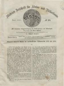 Globus. Illustrierte Zeitschrift für Länder...Bd. XXXV, Nr.20, 1879