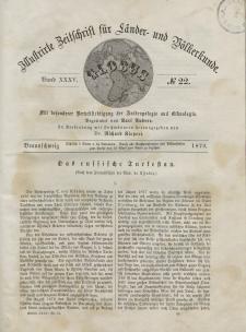 Globus. Illustrierte Zeitschrift für Länder...Bd. XXXV, Nr.22, 1879