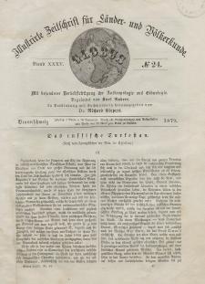 Globus. Illustrierte Zeitschrift für Länder...Bd. XXXV, Nr.24, 1879