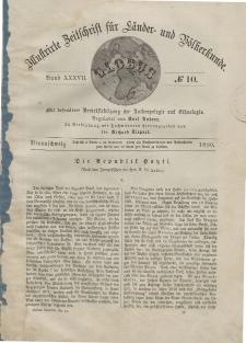 Globus. Illustrierte Zeitschrift für Länder...Bd. XXXVII, Nr.10, 1880
