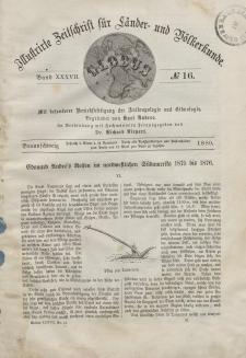 Globus. Illustrierte Zeitschrift für Länder...Bd. XXXVII, Nr.16, 1880