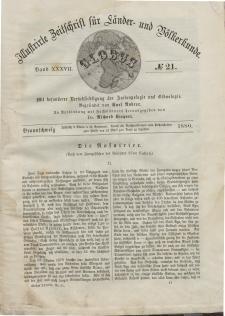Globus. Illustrierte Zeitschrift für Länder...Bd. XXXVII, Nr.21, 1880