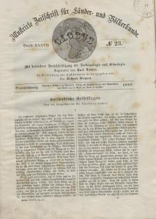 Globus. Illustrierte Zeitschrift für Länder...Bd. XXXVII, Nr.23, 1880