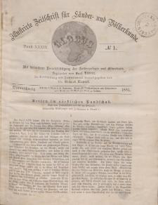 Globus. Illustrierte Zeitschrift für Länder...Bd. XXXIX, Nr.1, 1881