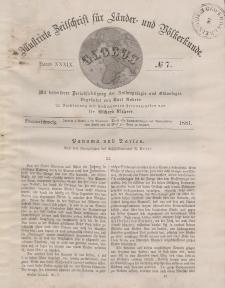 Globus. Illustrierte Zeitschrift für Länder...Bd. XXXIX, Nr.7, 1881
