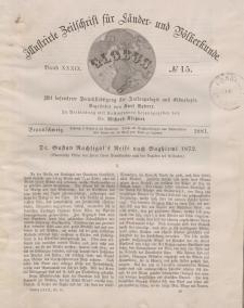 Globus. Illustrierte Zeitschrift für Länder...Bd. XXXIX, Nr.15, 1881
