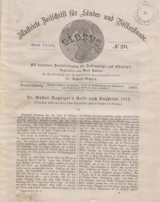 Globus. Illustrierte Zeitschrift für Länder...Bd. XXXIX, Nr.20, 1881