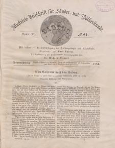 Globus. Illustrierte Zeitschrift für Länder...Bd. XL, Nr.21, 1881