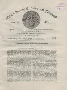 Globus. Illustrierte Zeitschrift für Länder...Bd. XLIV, Nr.8, 1883