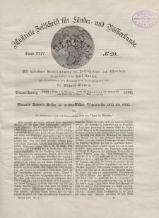 Globus. Illustrierte Zeitschrift für Länder...Bd. XLIV, Nr.20, 1883