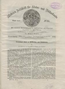 Globus. Illustrierte Zeitschrift für Länder...Bd. XLIV, Nr.24, 1883