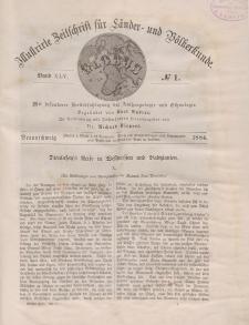 Globus. Illustrierte Zeitschrift für Länder...Bd. XLV, Nr.1, 1884