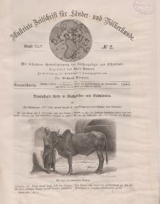 Globus. Illustrierte Zeitschrift für Länder...Bd. XLV, Nr.2, 1884