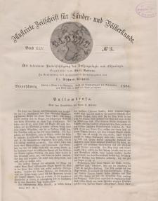 Globus. Illustrierte Zeitschrift für Länder...Bd. XLV, Nr.3, 1884