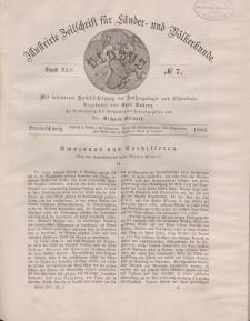 Globus. Illustrierte Zeitschrift für Länder...Bd. XLV, Nr.7, 1884