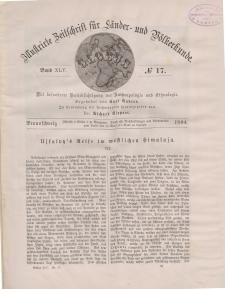 Globus. Illustrierte Zeitschrift für Länder...Bd. XLV, Nr.17, 1884
