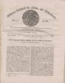 Globus. Illustrierte Zeitschrift für Länder...Bd. XLV, Nr.20, 1884