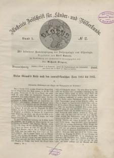 Globus. Illustrierte Zeitschrift für Länder...Bd. L, Nr.2, 1886