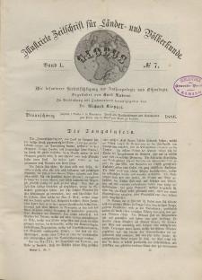 Globus. Illustrierte Zeitschrift für Länder...Bd. L, Nr.7, 1886