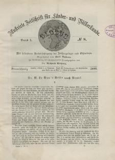 Globus. Illustrierte Zeitschrift für Länder...Bd. L, Nr.8, 1886