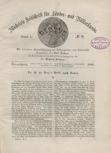 Globus. Illustrierte Zeitschrift für Länder...Bd. L, Nr.9, 1886