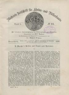 Globus. Illustrierte Zeitschrift für Länder...Bd. L, Nr.13, 1886