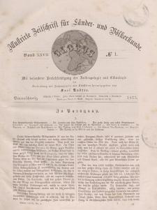 Globus. Illustrierte Zeitschrift für Länder...Bd. XXVII, Nr.1, 1875
