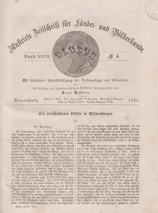 Globus. Illustrierte Zeitschrift für Länder...Bd. XXVII, Nr.4, 1875