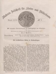 Globus. Illustrierte Zeitschrift für Länder...Bd. XXVII, Nr.5, 1875