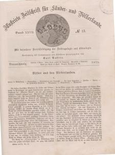 Globus. Illustrierte Zeitschrift für Länder...Bd. XXVII, Nr.13, 1875