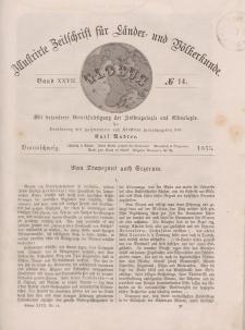 Globus. Illustrierte Zeitschrift für Länder...Bd. XXVII, Nr.14, 1875