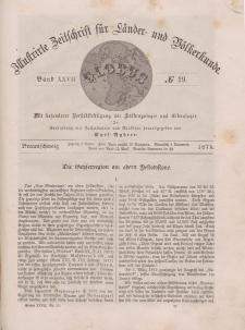 Globus. Illustrierte Zeitschrift für Länder...Bd. XXVII, Nr.19, 1875