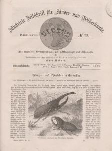 Globus. Illustrierte Zeitschrift für Länder...Bd. XXVII, Nr.23, 1875