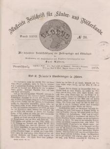 Globus. Illustrierte Zeitschrift für Länder...Bd. XXVII, Nr.24, 1875