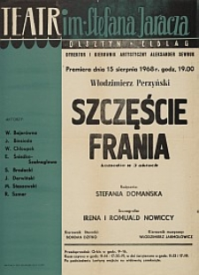 Szczęście Frania - Włodziemierz Perzyński