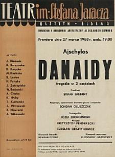 Danaidy - Ajschylos