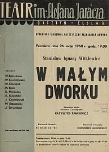 W małym dworku - Stanisław Ignacy Witkiewicz