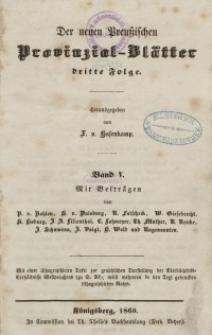 Neue Preussische Provinzial-Blätter, Bd. V, 1860