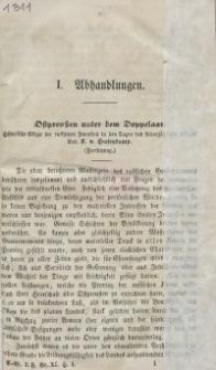 Neue Preussische Provinzial-Blätter, Folge III, Bd. XI, 1865
