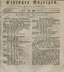 Elbinger Anzeigen, Nr. 50. Sonnabend, 23. Juni 1832