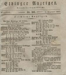 Elbinger Anzeigen, Nr. 96. Sonnabend, 1. Dezember 1832