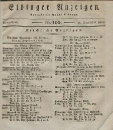 Elbinger Anzeigen, Nr. 100. Sonnabend, 15. Dezember 1832