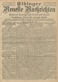 Elbinger Neueste Nachrichten, Nr. 71 Sonntag 24 März 1912 64. Jahrgang