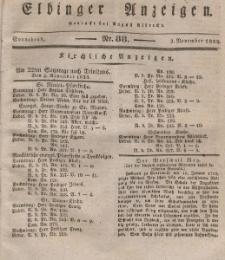 Elbinger Anzeigen, Nr. 88. Sonnabend, 2. November 1833