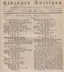 Elbinger Anzeigen, Nr. 97. Sonnabend, 5. Dezember 1835