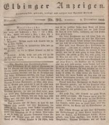 Elbinger Anzeigen, Nr. 98. Mittwoch, 9. Dezember 1835