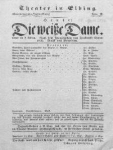 Die weisse Dame - Frederike Clemenreich