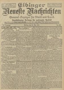 Elbinger Neueste Nachrichten, Nr. 109 Freitag 10 Mai 1912 64. Jahrgang