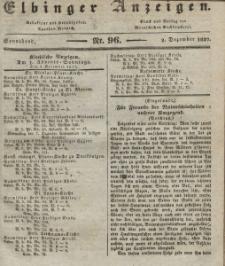 Elbinger Anzeigen, Nr. 96. Sonnabend, 2. Dezember 1837