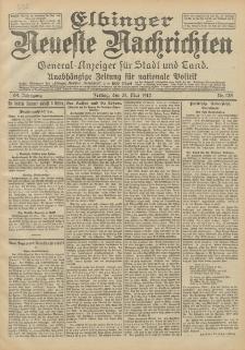 Elbinger Neueste Nachrichten, Nr. 125 Freitag 31 Mai 1912 64. Jahrgang